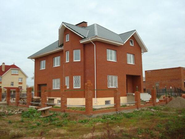 строительство дома фото
