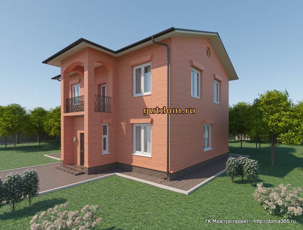 Проект дома 142 м2 ГаП35