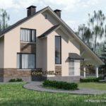 Проект дома 150 м2 Мод4