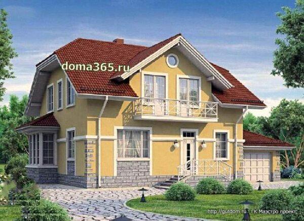 дом с гаражом