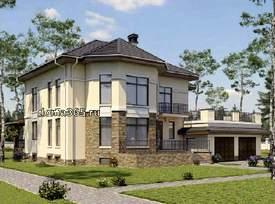 Проекты домов, входные группы - архитектор Алла