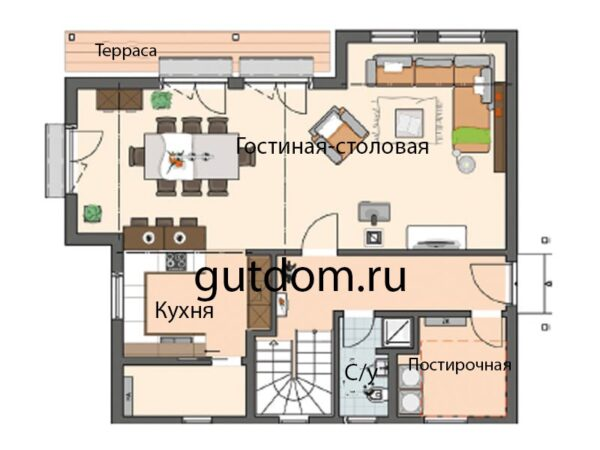 Проект дома 150 м2 РГ-11